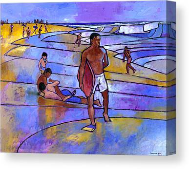 Hawaii Paintings Canvas Prints