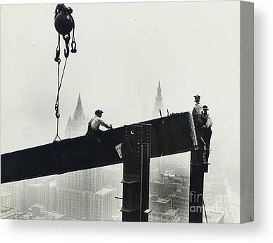 Steel City Canvas Prints