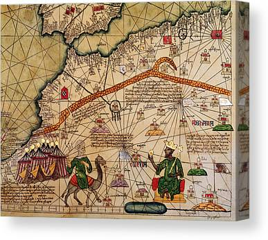 Moroccan Drawings Canvas Prints