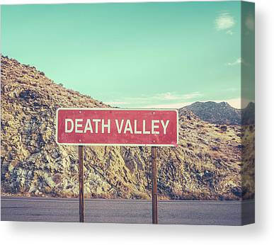 Death Valley Canvas Prints
