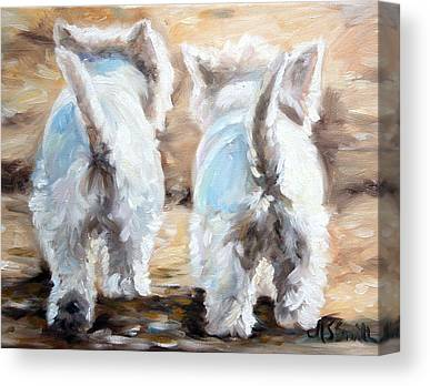 West Highland Canvas Prints