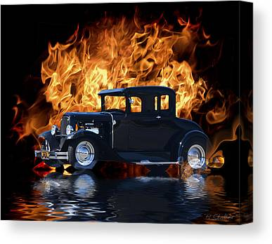 Ford Coupe Canvas Prints