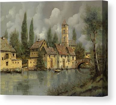 Riverscape Canvas Prints