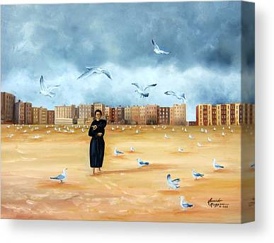 Brighton Beach Brooklyn New York Paintings Canvas Prints