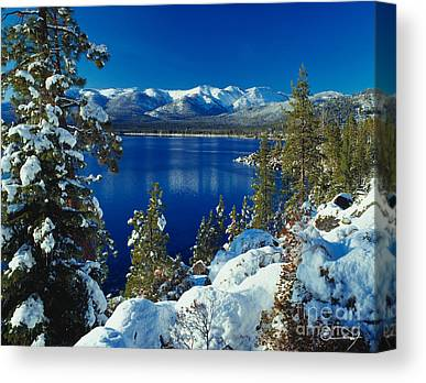 Lake Tahoe Canvas Prints