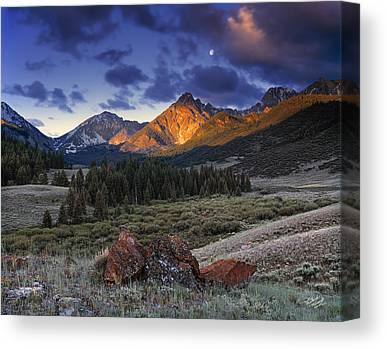 Serenity Landscapes Canvas Prints