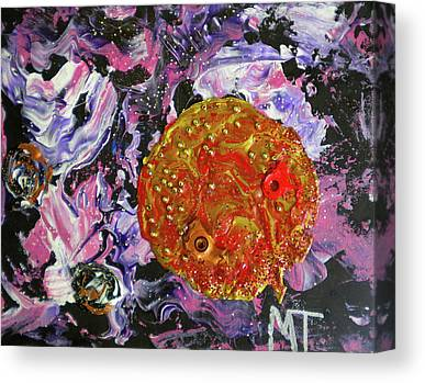 The Void Above Paintings Canvas Prints
