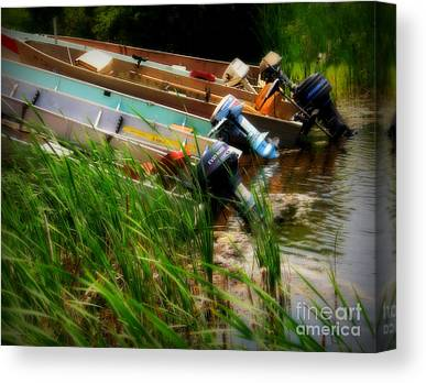 Fishing Tackel Canvas Prints