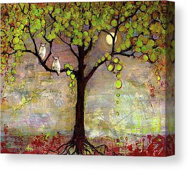 Pairs Mixed Media Canvas Prints