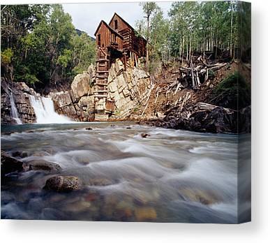 Marble Mill Canvas Prints