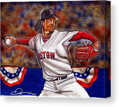 2004 World Series Champions Canvas Prints