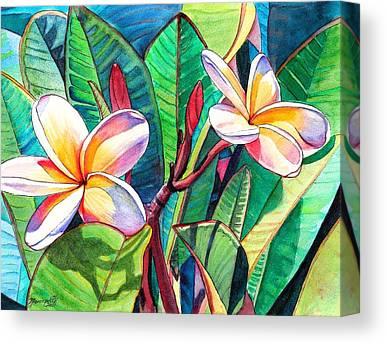 Hawaiian Islands Canvas Prints
