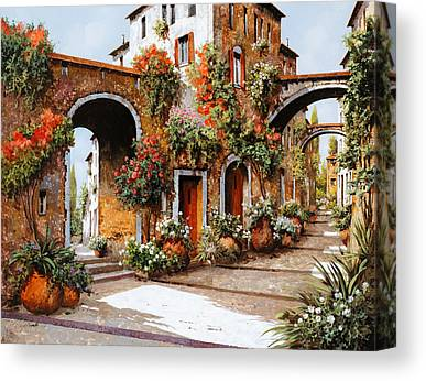 Steps Paintings Canvas Prints