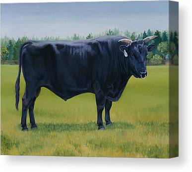Kobe Beef Canvas Prints