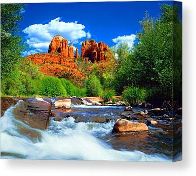 Cathedral Rock Canvas Prints