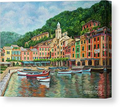 Portofino Italy Art Canvas Prints