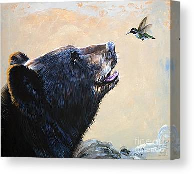Indigenous Wildlife Canvas Prints