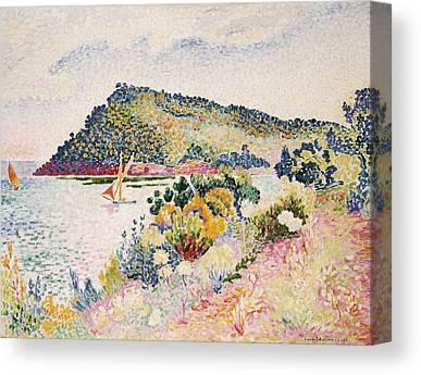 La Baie De Pramousquier Canvas Prints