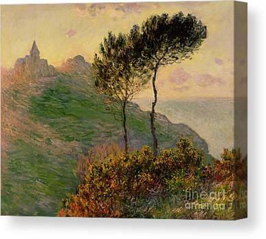 The Hill Canvas Prints