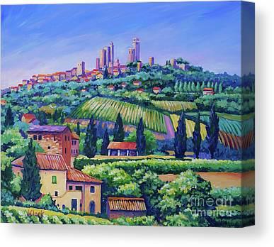 Italian Landscape Canvas Prints