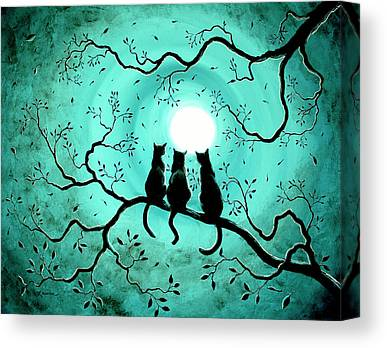 Wiccan Canvas Prints