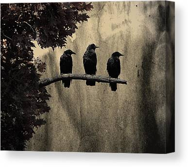 Gothicrow Canvas Prints