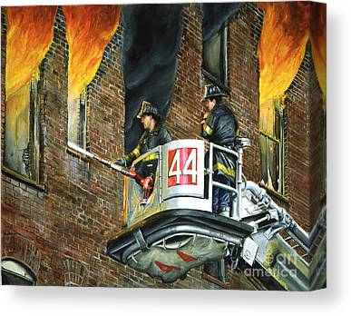 Fire And Water Canvas Prints