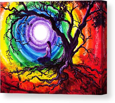 Dye Paintings Canvas Prints