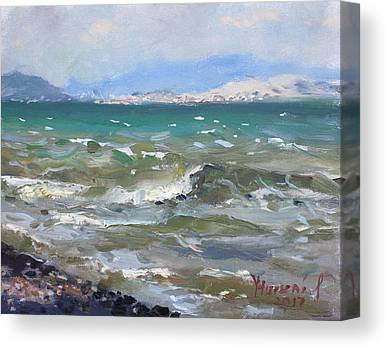 Aegean Canvas Prints