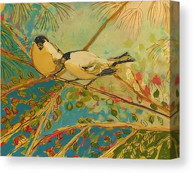 Forest Bird Canvas Prints