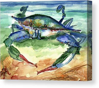 Crabbing Canvas Prints