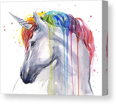 Unicorn Canvas Prints