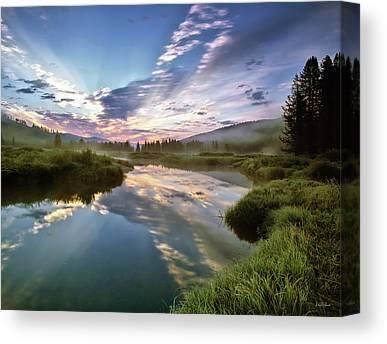 Boise National Forest Canvas Prints
