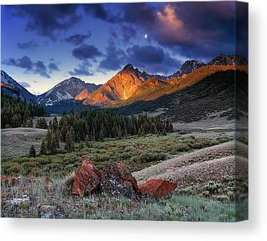 Idaho Canvas Prints