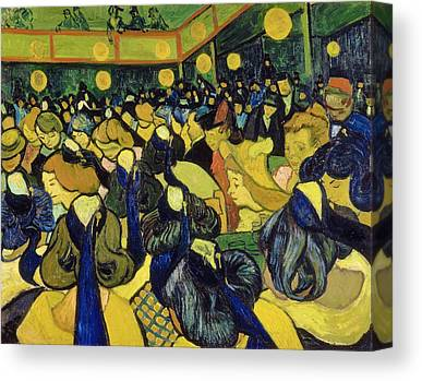 Faces In The Crowd Canvas Prints