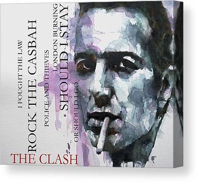The Clash Canvas Prints