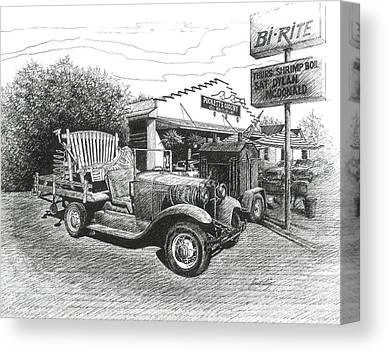Leipers Fork Drawings Canvas Prints
