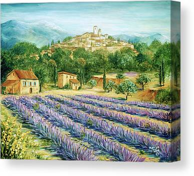 Southern France Paintings Canvas Prints