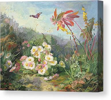 Cardboard Paintings Canvas Prints