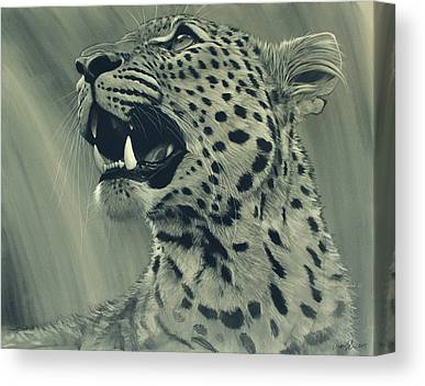Leopard Canvas Prints