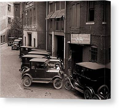 Ford Model T Car Canvas Prints