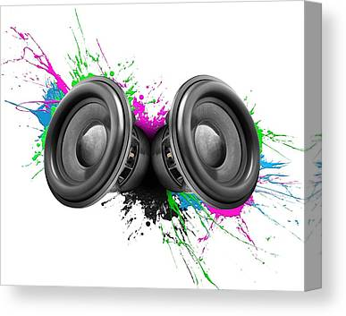 Stereo Canvas Prints