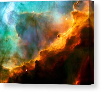 Swan Nebula Canvas Prints