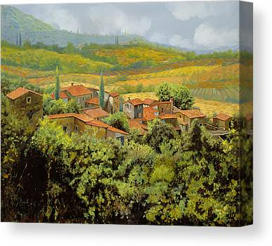 Chianti Hills Canvas Prints