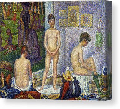 Seurat Photographs Canvas Prints