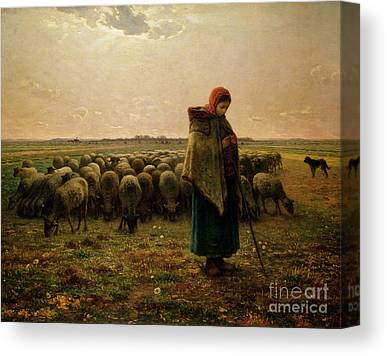Woollen Canvas Prints