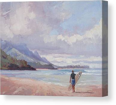Surf Canvas Prints
