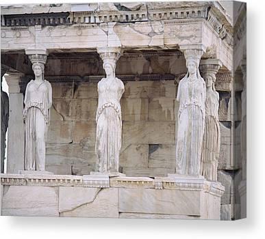 Temple Of Athena Nike Canvas Prints