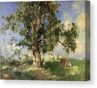 Under The Trees Canvas Prints
