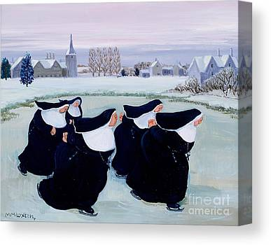 Ice Skating Canvas Prints